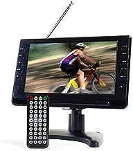 Tyler TTV702-9 Portable Widescreen LCD TV with Detachable Antennas, USB/SD Card Slot, Built in Digital Tuner, and AV Inputs