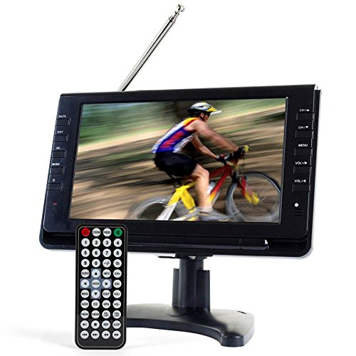 Tyler TTV702-9 Portable Widescreen LCD TV with Detachable Antennas, USB/SD Card Slot, Built in...