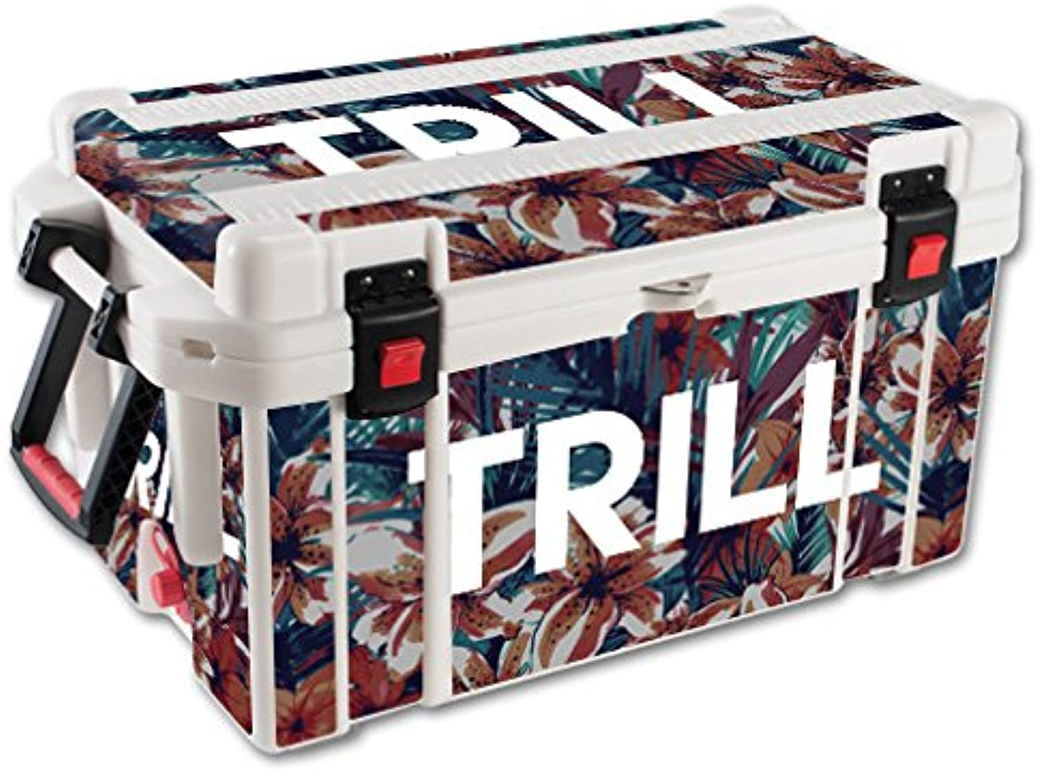 MightySkins Skin Compatible with Pelican 65 qt Cooler – Trill   Predective, Durable, and Unique Vinyl Decal wrap Cover   Easy to Apply, Remove, and Change Styles   Made in The USA