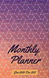 "Monthly Planner Jan 2020-Dec 2021: 2-Year Calendar 2020-2021 Monthly Pocket Planner  (Size 5.0"" x 8.0"") 24-Month Calendar Schedule Organizer and Birthday log Notebook (January 2020 - December 2021)"
