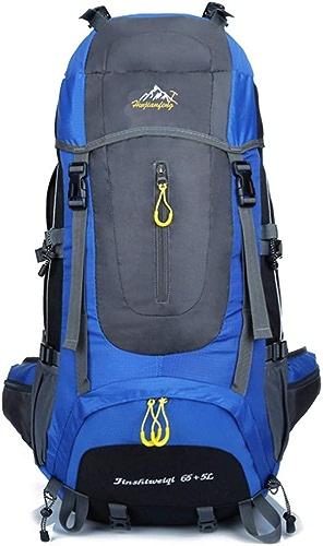 TYJH Sac à Dos d'extérieur, Sac d'alpinisme Grande capacité de 70L, adapté aux Sports de Plein air, à la randonnée, au Camping, à l'alpinisme. étanche, résistant à l'usure