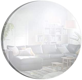 Circle Mirror for Crafts, Traveling, Framing, Decoration, and DIY Projects (6 Inch, Pack of 10)