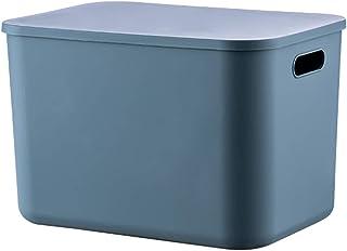 HLYT-0909 Boîte de rangement Boîtes de rangement de bureau, paniers de rangement cosmétique, jouets anti-poussière et séch...