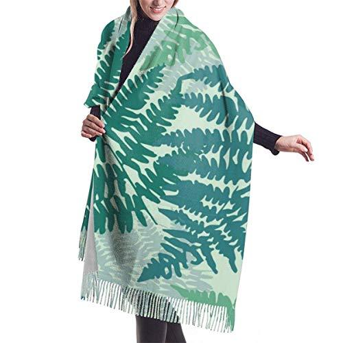 Moda para mujer chal largo con caras de huevo frito Kawaii bufanda de cachemira de dibujos animados invierno cálida bufanda grande caja de regalo