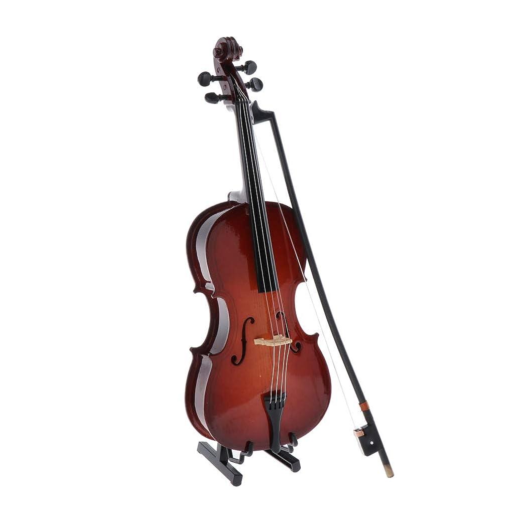 行ぐったりかまどsharprepublic ドールハウスミニチュア木製楽器チェロに適用1/6ドールズアイオンフィギュアおもちゃ