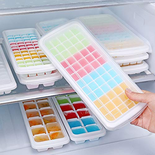 1Pc/48 Grids Ice Cube Tray Plastic Ice Cube Maker Sphere...