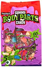 Frankford Halloween Gummy Body Parts Candy, 15.87 OZ (1)