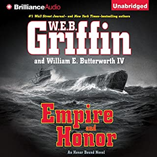 Empire and Honor audiobook cover art