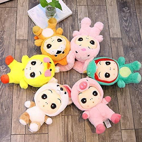 DONGER Niedliche Vielfalt Puppe Puppe Spielzeug Kreative Puppe Puppe Dinosaurier L , EIN Satz Von 6 Modellen30cm