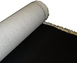 VNAKER Double Primed Cotton Canvas Roll Kits 16.4Ft x 24 Canvas Roll and Expandable Canvas Tube for Oil /& Acrylic Paint