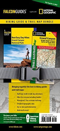 Best Easy Day Hiking Guide and Trail Map Bundle: Grand Canyon National Park (Best Easy Day Hikes Series) First edition by Adkison, Ron (2010) Paperback