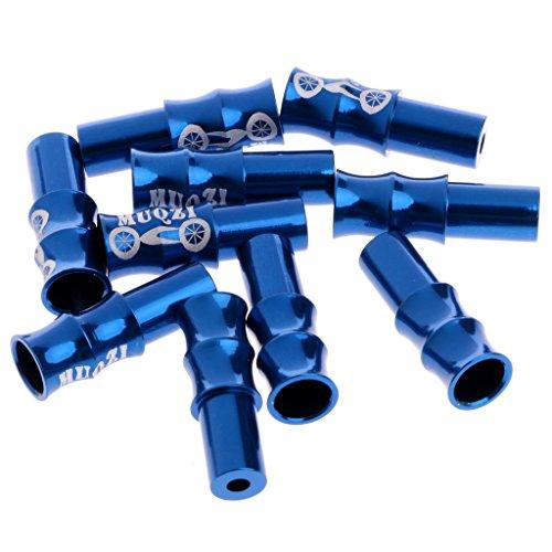 xiaoyao24 - Juego de 10 topes de freno para bicicleta, azul