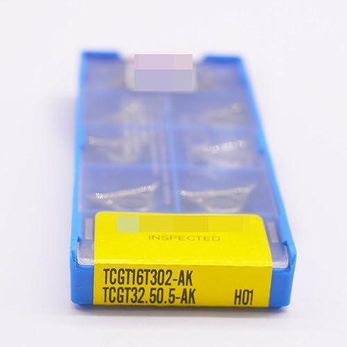 lowest ZIMING-1 10pcs TCGT16T302-AK H01 CNC Carbide Inserts online sale tool Suitable popular for machining aluminum online
