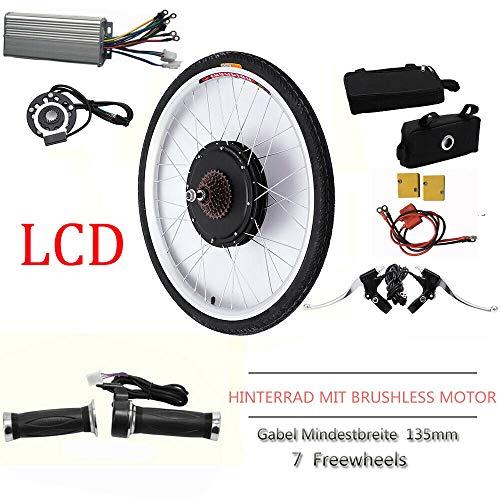 Kit de conversión para rueda trasera de bicicleta eléctric