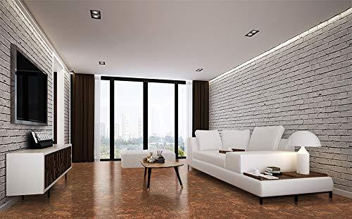 Tasmanian Burl Cork Flooring panels