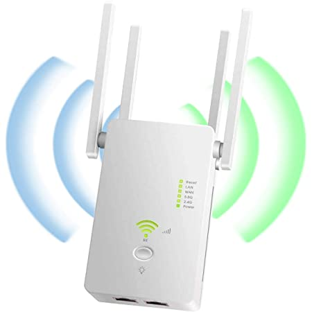 YingStar Repetidor de Red WiFi Double Bandas 1200M ...