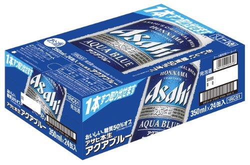 【発泡酒】アサヒ本生アクアブルー[ビール350ml×24本]