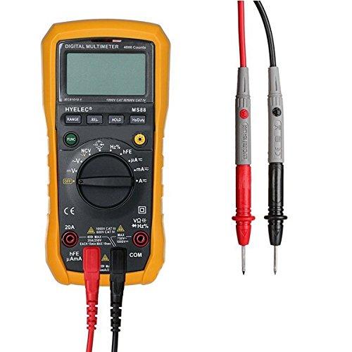 Tutoy Hyelec Peakmeter Ms88 Multímetro Profesional Multifunción Multímetro Digital Auto Manual Range