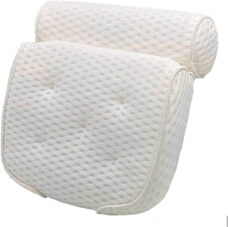 4D net SPA Bathtub Pillow San Antonio Mall with Online limited product 7 b Suction Suitable for All Cups