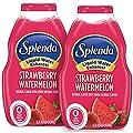 SPLENDA Liquid Water Enhancer Drops, Sugar Free, Zero Calorie, Natural Flavor, Concentrated Drink Mix, 3.11 Fl Oz Each Bottle (Strawberry Watermelon, 2 Pack) from TC Heartland LLC