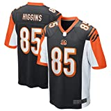 SANXIAN Camiseta de fútbol americano, camiseta de Bengals, camiseta de rugby de Cincinnati, transpirable, n.º 85, color negro y XL