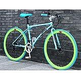 LWJPP 26 Pulgadas Bicicletas 24 Velocidad de Bicicletas de montaña Adecuado for for Hombres y Mujeres Estudiantes Adultb vehículo Camino de la Bicicleta de Carreras
