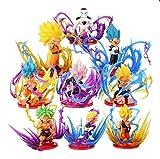 World Collection Lote de Figuras Dragon Ball Super Saiyan Maximo Poder