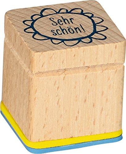Stempel Motivatitionsstempel Lehrerstempel aus Holz (Sehr schön)