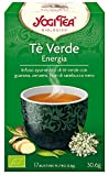 Yogi Tea Infusión de Hierbas Te Verde Energía - 17 bolsitas