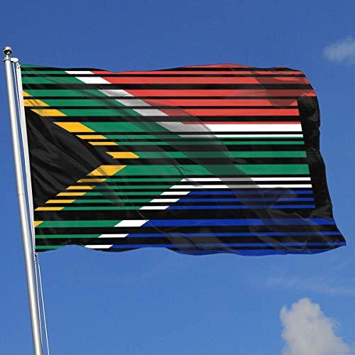 Zudrold Outdoor-Flaggen Südafrikanische Barcode-Flagge Flagge für Sportfan Fußball Basketball Baseball Hockey