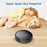 """Robit V7S PRO Robot Vacuum Cleaner, Upgraded 2000Pa Strong Suction, Ultra-Thin, Drop Sensor, Quiet, Self- Charging… 9 🐱 Enhanced 2000Pa Strong Suction: With the most advanced powerful motor, Robit V7S Pro Robot Vacuum has a 2000Pa intense suction, easily picking up dust and hair even from hard floor and carpet.3 Stage Cleaning System provided meets any various demands, you can choose whichever you like. 🐶 Slim Body & Super Quiet: Applying unique High quality Nidec brushless motor, this robot vacuum cleaner is endowed with mini noise while cleaning, so you can enjoy yourself with no disturbance. Only 3.1"""" height makes it easy to freely glide under the bed, the sofa or the table , and all the hidden dust can be swept away. 🐹 Schedule a Cleaning : Delivered by a Time Reservation, this robot vacuum pet can work perfectly as scheduled and multiple cleaning modes generates a customized cleaning routine."""