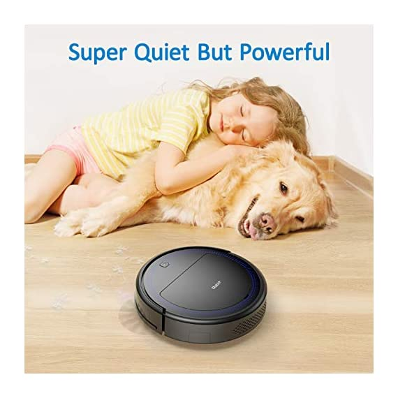 """Robit V7S PRO Robot Vacuum Cleaner, Upgraded 2000Pa Strong Suction, Ultra-Thin, Drop Sensor, Quiet, Self- Charging… 2 🐱 Enhanced 2000Pa Strong Suction: With the most advanced powerful motor, Robit V7S Pro Robot Vacuum has a 2000Pa intense suction, easily picking up dust and hair even from hard floor and carpet.3 Stage Cleaning System provided meets any various demands, you can choose whichever you like. 🐶 Slim Body & Super Quiet: Applying unique High quality Nidec brushless motor, this robot vacuum cleaner is endowed with mini noise while cleaning, so you can enjoy yourself with no disturbance. Only 3.1"""" height makes it easy to freely glide under the bed, the sofa or the table , and all the hidden dust can be swept away. 🐹 Schedule a Cleaning : Delivered by a Time Reservation, this robot vacuum pet can work perfectly as scheduled and multiple cleaning modes generates a customized cleaning routine."""