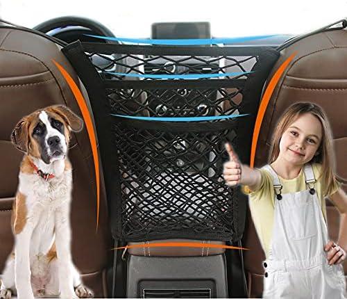 Car Seat Handbag Net High order Pocket National products Layer Storage Holder 3 Mes