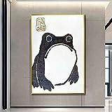 SHYJBH Leinwand Gemälde Antik Vintage Matsumoto Hoji