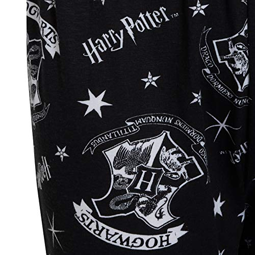 Harry-Potter-Womens-Pyjamas-Ladies-Muggles-Hogwarts-PJs-Set-T-Shirt-Lounge-Pants-Nightwear