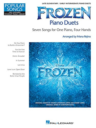 Frozen Piano Duets: Popular Songs Series Late Elementary/Early Intermediate Piano Due