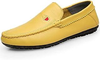 Zapatos Boda Moda Manga Casual De Cabeza Redonda Y Salvaje De Moda Masculina Europea Y Americana Plana con Zapatos Individuales