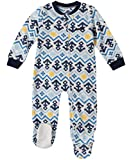 Nautica Baby Boys Blanket Sleeper, Light Blue Print, 6-9 Months