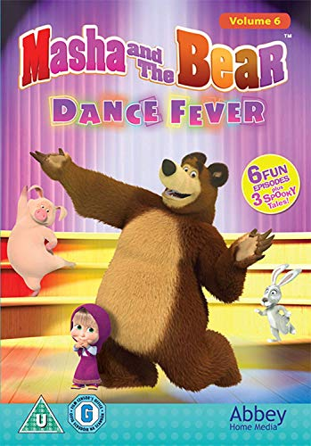 Masha And The Bear: Dance Fever [DVD]