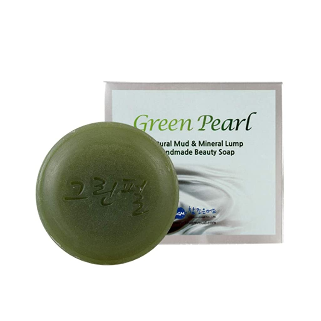 クアッガ製作に向けて出発[Charmmud] グリーンパール せっけん スキンケア ミネラル 手作り美容 石鹸 [並行輸入品]