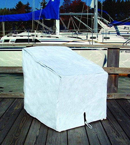 Taylor Made Products 40235 40235 Deck Chair Cover White Boating Hardware & Maintenance Supplies