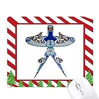 中国文化の凧の伝統的なパターン ゴムクリスマスキャンディマウスパッド