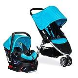Britax 2017 B-Agile 3 Stroller & B-Safe 35 Infant Car Seat - Cyan