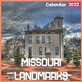 Missouri Landmarks Calendar 2022: Official Missouri Calendar 2022, 18 Month Photo of Missouri Travel calendar 2022, Mini Calendar