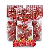 Caramelos Blandos De Frambuesa Y Miel - 150 Gramos (Paquete de 3 Piezas)