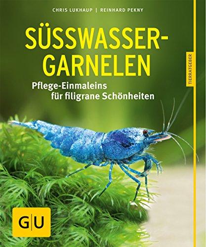 Süßwasser-Garnelen gelb 12 x 3,5 cm: Pflege-Einmaleins für filigrane Schönheiten (GU Tierratgeber)