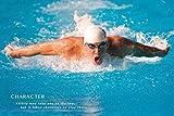 Michael Phelps Quote Poster Drucken (91,44 x 60,96 cm)