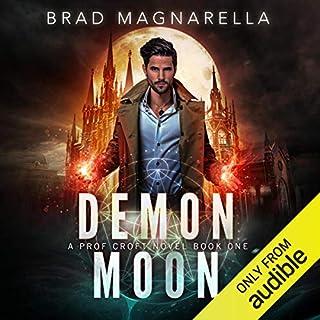 Demon Moon audiobook cover art