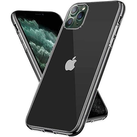 【Amazon限定ブランド】iPhone 11 Pro Max ケース クリアケース - スマホケース iPhone11Pro max ケース 「ストラップホール/耐衝撃/擦り傷防止/滑り止め/一体型/人気/おしゃれ」 アイフォン11 プロ マックス 2019新型 6.5インチ Arae (クリア)