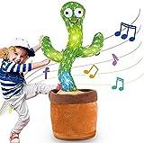 Giocattoli di Peluche di Cactus, Dancing Cactus Che Balla Giocattolo di Educazione Precoce, Giocattoli di Peluche di Cactus Elettronici di Cactus Che Canta e Balla Per Bambini